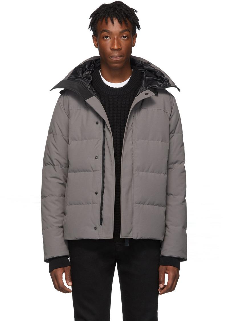 Canada Goose Grey 'Black Label' Macmillan Parka