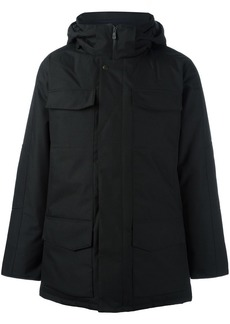 Canada Goose hooded zipped coat