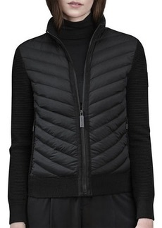 Canada Goose HyBridge Knit & Down-Filled Jacket