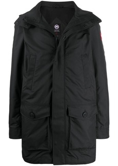 Canada Goose long sleeve hooded coat