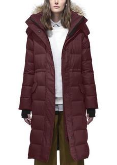 Canada Goose Lunenberg Long Quilted Parka w/ Detachable Fur Hood