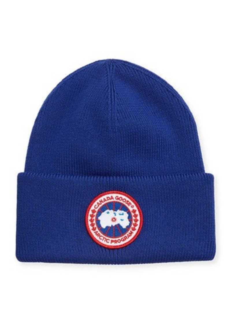 Canada Goose Men's Arctic Disc Toque Knit Beanie Hat