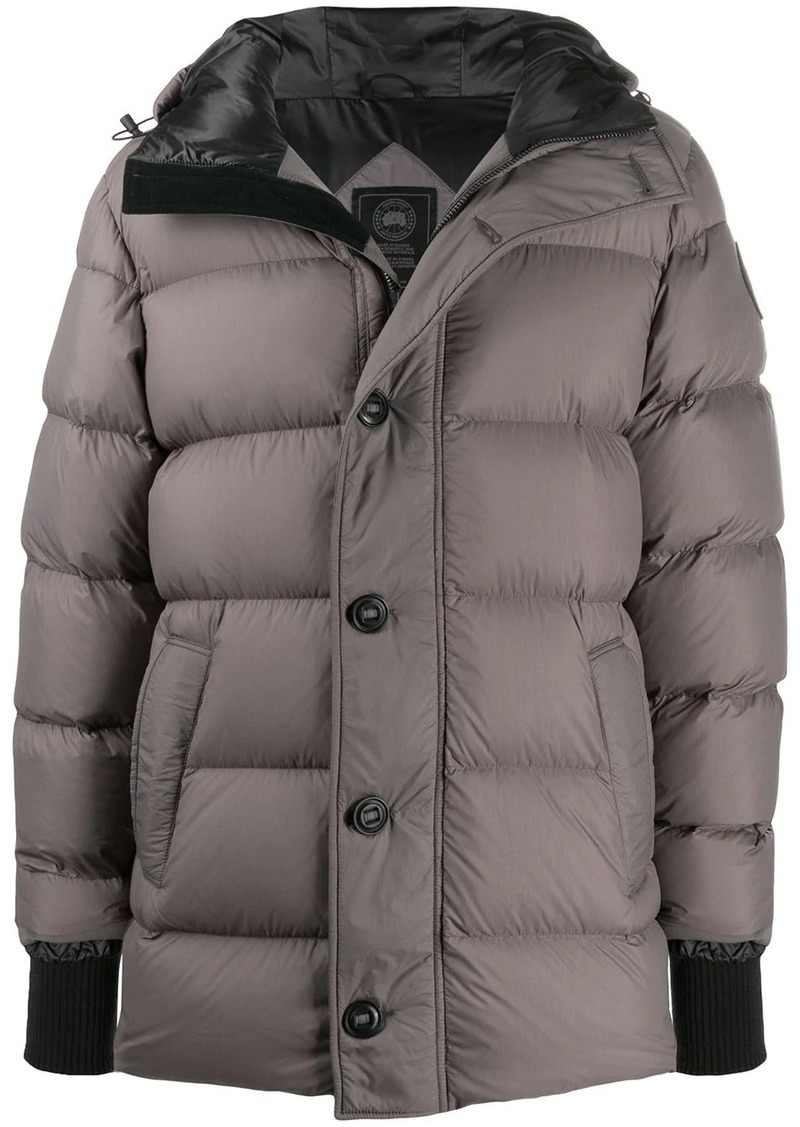 Canada Goose padded hooded coat