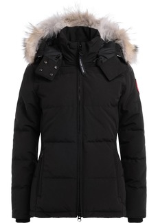 Parka Canada Goose Chelsea In Black With Adjustable And Removable Hood