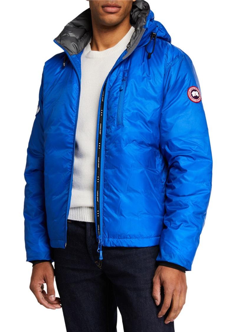 Canada Goose PBI Down-Fill Lodge Hoodie Jacket  Royal Blue