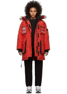 Canada Goose Red Down Snow Mantra Parka