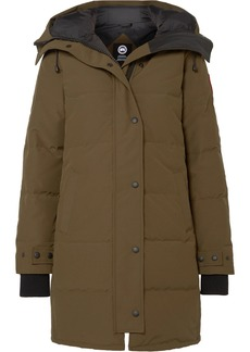 Canada Goose Shelbourne Hooded Quilted Shell Down Parka