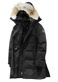 Canada Goose Shelburne Quilted Coyote Fur-Trim Parka