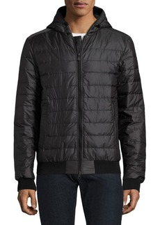 Canada Goose Sydney Quilted Down-Fill Hoodie Black Label