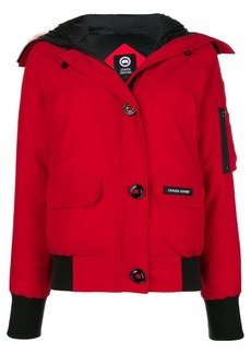 Canada Goose trimmed hood puffer jacket