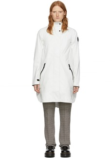 Canada Goose White Kitsilano Coat