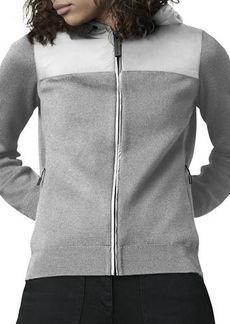 Canada Goose WindBridge Wool & Nylon Hoodie Jacket
