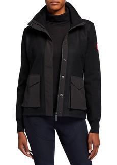 Canada Goose Windbridge Wool Patch-Pocket Jacket