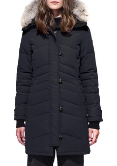 Women's Canada Goose Lorette Fusion Fit Hooded Down Parka With Genuine Coyote Fur Trim