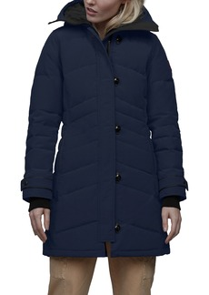 Women's Canada Goose Lorette Hooded Down Parka With Genuine Coyote Fur Trim