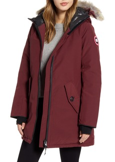 Women's Canada Goose Rosemont Arctic Tech 625 Fill Power Down Parka With Genuine Coyote Fur Trim