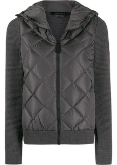 Canada Goose zipped quilted jacket