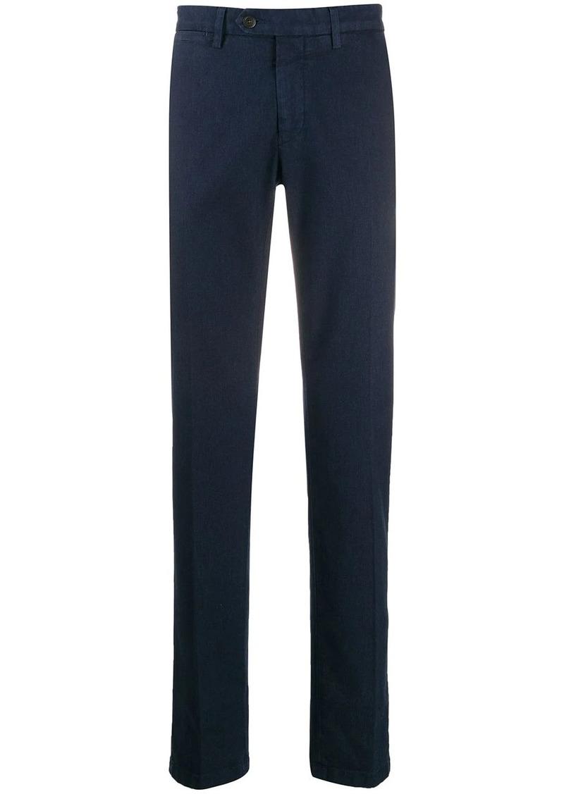Canali woven tailored trousers