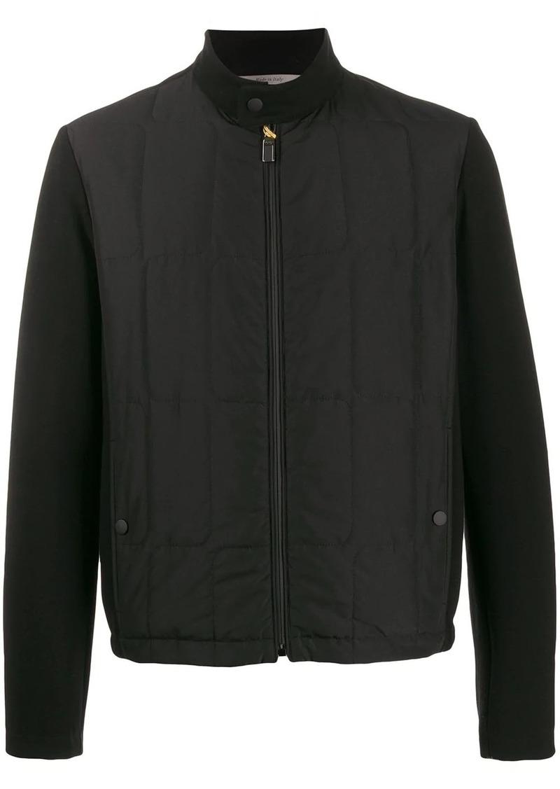 Canali long sleeve bomber jacket