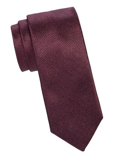 Canali Abstract Dash Silk Tie