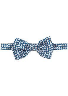 Canali all-over print bow tie