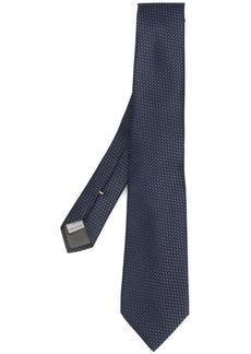 Canali Bird's Eye motif tie
