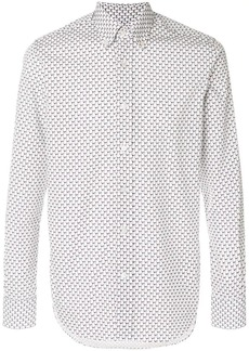 Canali butterfly-print formal shirt