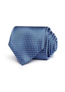 Canali Bolts & Spools Classic Silk Tie