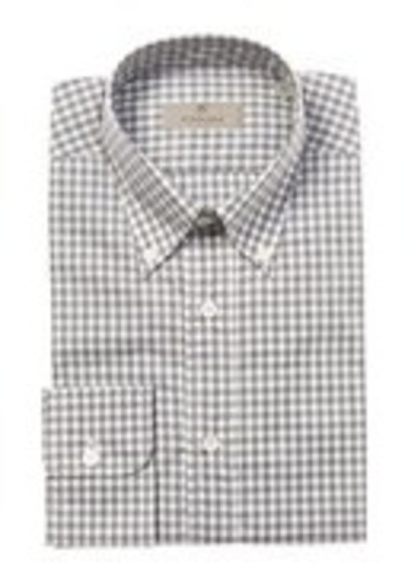 Canali Canali Gingham Dress Shirt