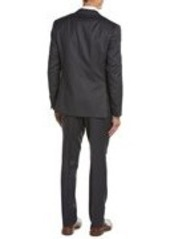 Canali Canali Wool Suit with Flat Front...
