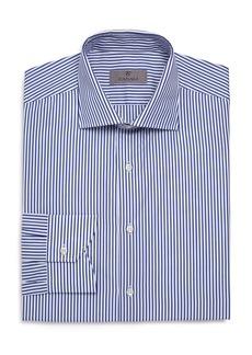 Canali Candy-Striped Regular Fit Dress Shirt