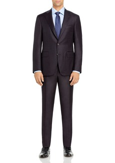 Canali Capri M�lange Solid Slim Fit Suit