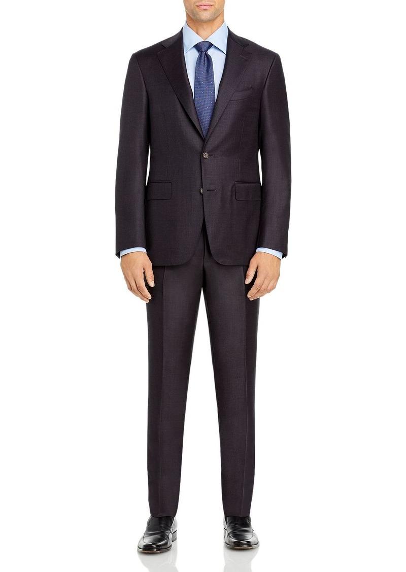 Canali Capri M�lange Solid Slim Fit Suit