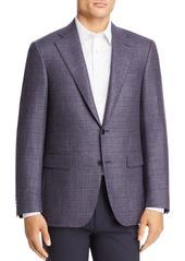 Canali Capri Textured M�lange Slim Fit Sport Coat