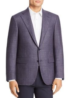 Canali Capri Textured M�lange Slim Fit Sport Coat