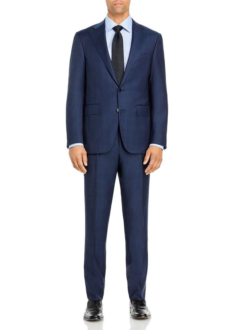 Canali Capri Tonal Plaid Slim Fit Suit