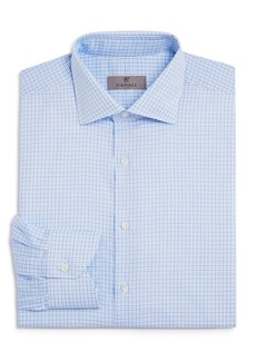 Canali Check Regular Fit Dress Shirt