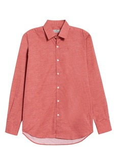 Canali Classic Fit Button-Up Shirt