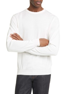 Canali Classic Fit Cotton Crewneck Sweater