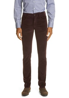 Canali Cotton Blend Men's Corduroy Pants