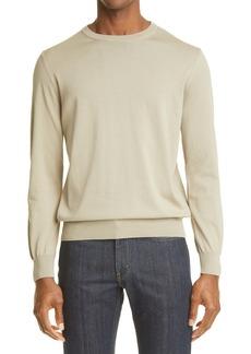 Canali Cotton Crewneck Sweater