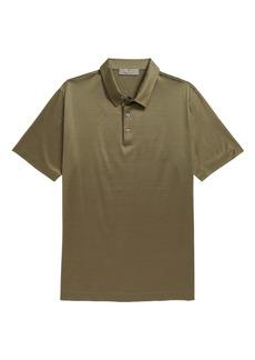 Canali Cotton Short Sleeve Polo Shirt