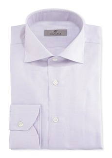 Canali Dobby-Dot Dress Shirt