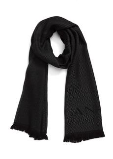 Canali Dot Wool Scarf