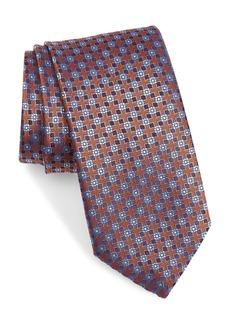 Canali Floral Silk Tie