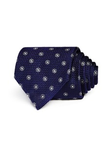 Canali Framed Floral Classic Tie