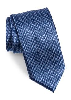 Canali Geometric Silk Tie