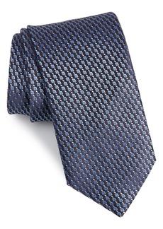 Canali Geometric Silk Tie (X-Long)