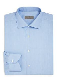 Canali Glen Plaid Regular Fit Dress Shirt