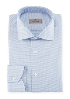Canali Houndstooth Dress Shirt